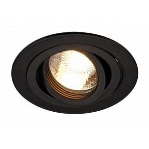 SLV 111710 New Tria GU10 round zwart inbouwspot