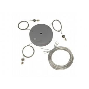SLV 133814 Ophangset voor Medo Pro 60 zilvergrijs hanglamp