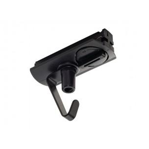 SLV 143170 1-Fase adapter met haak zwart