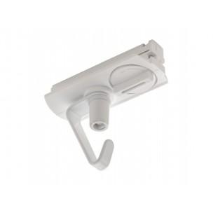 SLV 143171 1-Fase adapter met haak wit