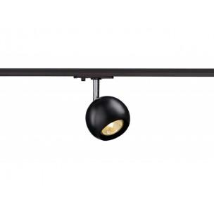 SLV 144010 Light Eye 1 GU10 zwart / chroom 1-fase railverlichting