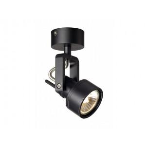 SLV 147550 Inda Spot GU10 zwart plafondarmatuur