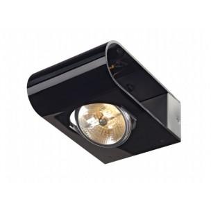 SLV 147594 Retrosix QRB Wall zwart wandspot