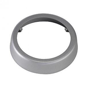 SLV 151050 Decoring 51mm zilvergrijs glad