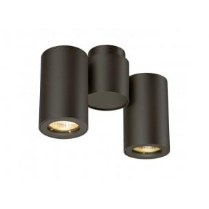 SLV 151830 Enola_B Spot 2 zwart wand- en plafondspot