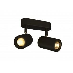 152020 SLV Enola_B double spot zwart wand- en plafondlamp