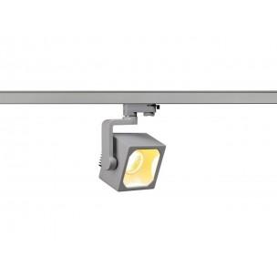 SLV 152754 Euro Cube 60º 2100lm zilvergrijs LED railverlichting
