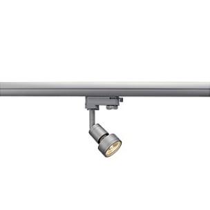 SLV 153564 Puri GU10 zilvergrijs 3-fase railverlichting