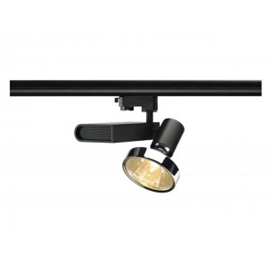 SLV 153650 Sleek Spot G12 zwart 30º 3 -fase railverlichting