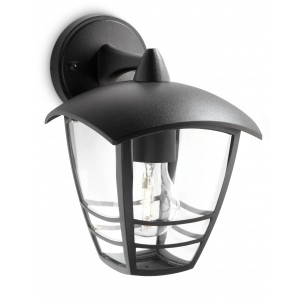 Philips Creek 153813016 zwart myGarden wandlamp