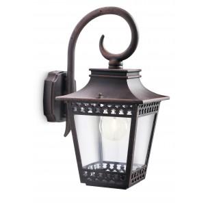 Philips Hedge 154018616 roestbruin myGarden wandlamp