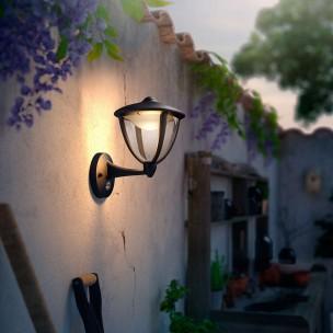 Philips Robin 154793016 zwart MyGarden wandlamp