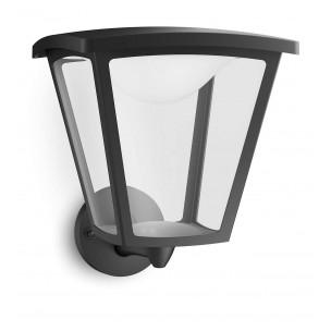 Philips Cottage 154803016 zwart MyGarden wandlamp