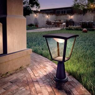 Philips Cottage 154823016 zwart MyGarden vloerlamp