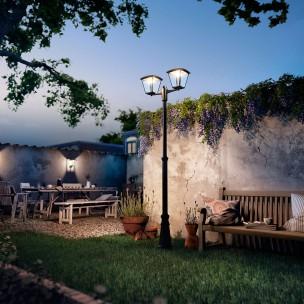 Philips Cottage 154853016 zwart MyGarden vloerlamp