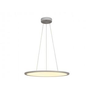 158633 SLV LED Panel Round zilvergrijs kantoorverlichting