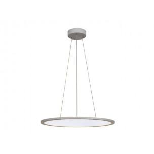 158634 SLV LED Panel Round zilvergrijs kantoorverlichting