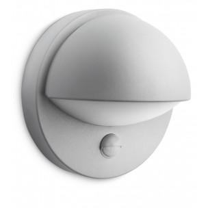 Philips June 162468716 zilvergrijs sensor myGarden wandlamp