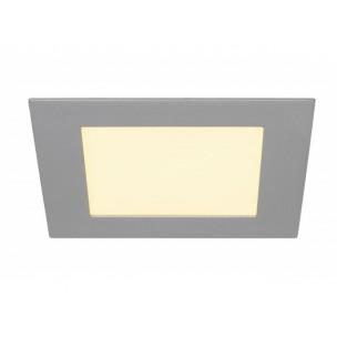SLV 162524 Eco Led Panel square zilvergrijs inbouwspot