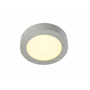 SLV 162943 Senser LED 10W zilvergrijs wand- en plafond armatuur