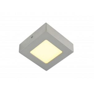 SLV 162993 Senser LED 6W zilvergrijswand- en plafond armatuur