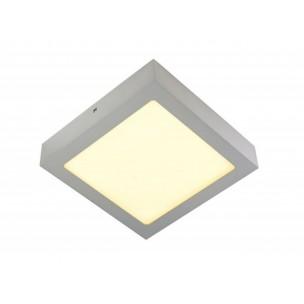 SLV 163013 Senser LED 14W zilvergrijs wand- en plafondarmatuur