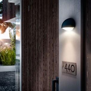 Philips Dust 164079316 antraciet MyGarden wandlamp