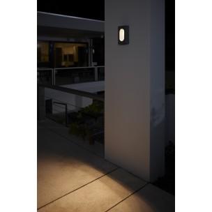 Philips Hedgerow 168169316 antraciet Ledino Outdoor wandlamp