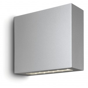 Philips Treeline 168608716 zilvergrijs Ledino Outdoor wandlamp
