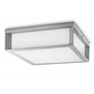 Philips Skies 171848716 zilvergrijs Ecomoods Outdoor wand / plafondlamp
