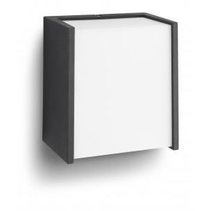 Philips Macaw 173023016 zwart myGarden wandlamp