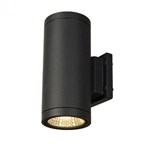 SLV 228525 Enola_C Out Up-Down antraciet led wandlamp buiten