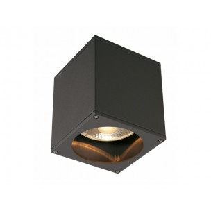 SLV 229555 Big Theo Ceiling Out antraciet plafondlamp buiten