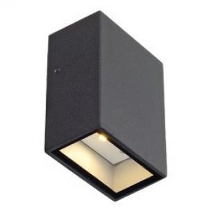 SLV 232465 Quad 1 antraciet wandlamp