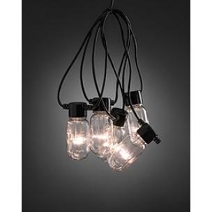 Konstsmide 2385-100 LED Lichtsnoer 10-lamps helder feestverlichting