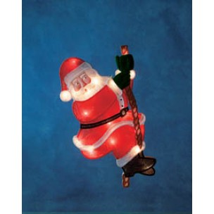 Konstsmide 2856-000 raamfiguur kerstman kerstverlichting binnen
