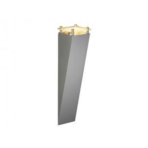 SLV 151390 Square wall Zilvergrijs wandlamp