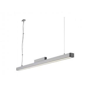 SLV 155012 Q-Line single alu natuur T5 verlichting kantoorverlichting