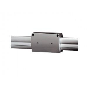 SLV 184172 Easytec II geisoleerde doorverbinder zilvergrijs railverlichting