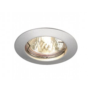 SLV 111189 Pika zilvergrijs MR16 inbouwspot