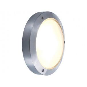 SLV 229072 Bulan zilvergrijs wand / plafondlamp