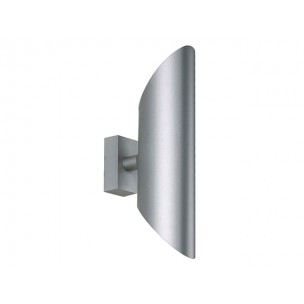 SLV 147112 Ovis zilvergrijs wandarmatuur
