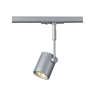 SLV 143442 Bima 1 zilvergrijs 1-fase railverlichting
