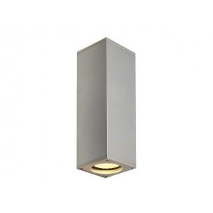 SLV 152082 Theo Up-Down Zilvergrijs wandlamp
