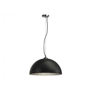 SLV 155520 Forchini PD-1 zwart / binnen zilver hanglamp