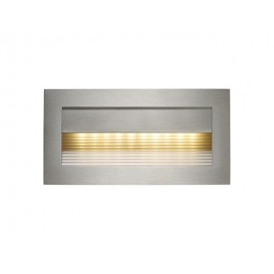 SLV 152062 Downunder RCL 101 edelstaal led warmwit wand inbouwspot