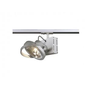 SLV 143512 TEC 1 QRB zilvergrijs 1-fase railverlichting