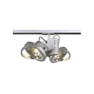 SLV 143522 TEC 2 QRB zilvergrijs 1-fase railverlichting