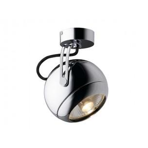 SLV 149042 Light Eye GU10 Chroom wand- en plafondarmatuur