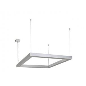 SLV 157334 Open Grill zilvergrijs kantoorverlichting